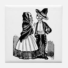 Amorosos en Dialogo Tile Coaster