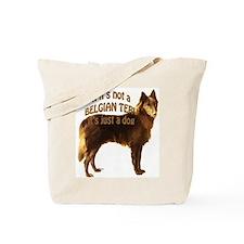 Belgian Terv Dog Tote Bag