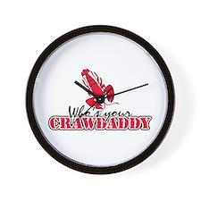 Who's ur Crawdaddy Wall Clock