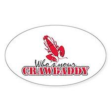 Who's ur Crawdaddy Decal