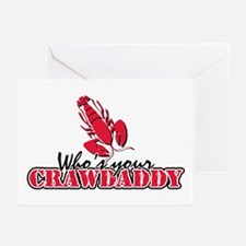 Who's ur Crawdaddy Greeting Cards (Pk of 10)