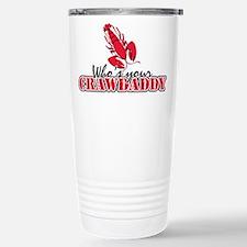 Who's ur Crawdaddy Travel Mug