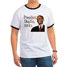 President Obama rocks T