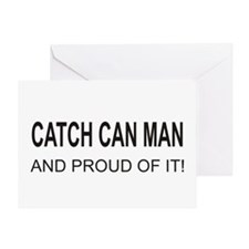 Catch Can Man Greeting Card