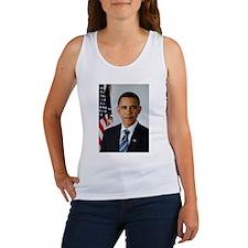 Cute Obama president Women's Tank Top