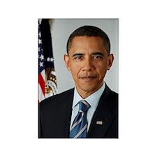 Cute 44th president barack obama Rectangle Magnet (100 pack)
