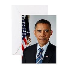 Cute Obama history Greeting Card