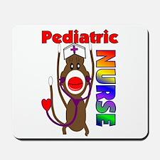 Nurse Sock Monkey Mousepad