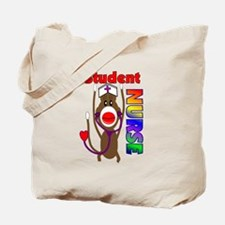 Nurse Sock Monkey Tote Bag