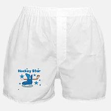 Hockey Star Boxer Shorts