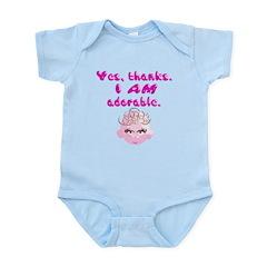Yes, thanks. I AM adorable Infant Bodysuit