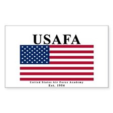USAFA Ensign Rectangle Decal