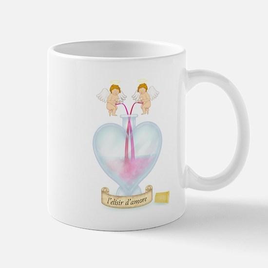 Cupids Making Love Potion Mug
