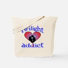 twilight addict /blues Tote Bag