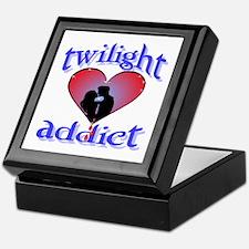 twilight addict /blues Keepsake Box