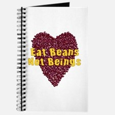 Eat Beans Not Beings Journal
