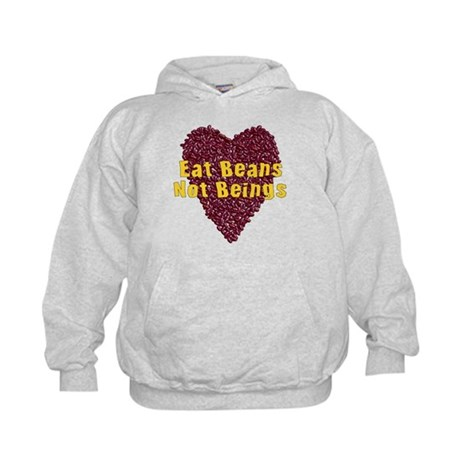 Eat Beans Not Beings Kids Hoodie