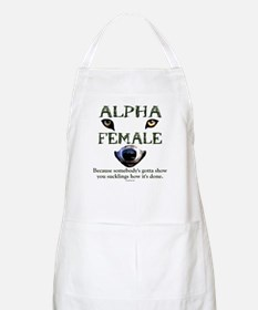 Alpha Female BBQ Apron