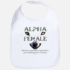 Alpha Female Bib