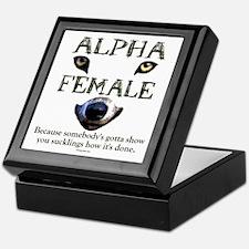 Alpha Female Keepsake Box