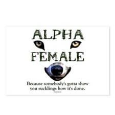 Alpha Female Postcards (Package of 8)
