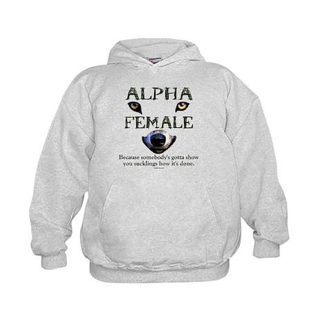 Alpha Female Kids Hoodie
