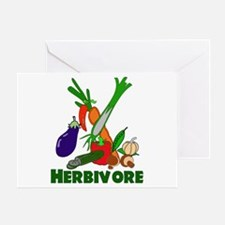 Herbivore Greeting Card
