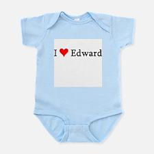 I Love Edward Infant Creeper
