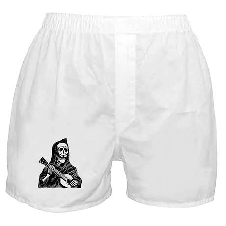 Calavera con Gitarra Boxer Shorts