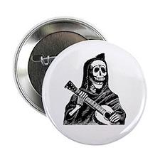 """Calavera con Gitarra 2.25"""" Button"""