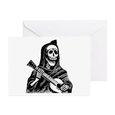 Calavera con Gitarra Greeting Cards (Pk of 20)