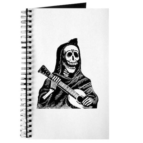 Calavera con Gitarra Journal