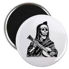 """Calavera con Gitarra 2.25"""" Magnet (10 pack)"""