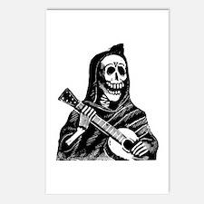 Calavera con Gitarra Postcards (Package of 8)