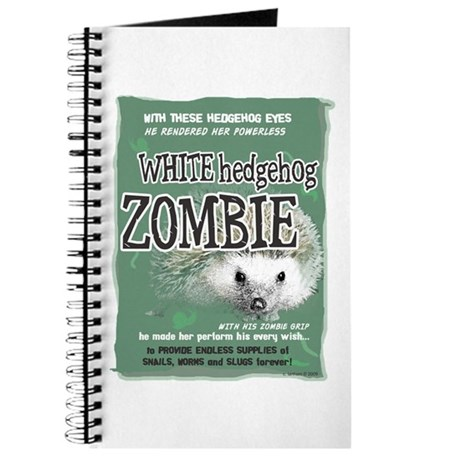 Hedgehog Zombie Journal