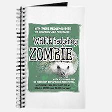 Hedgehog Zombie Journal