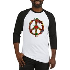 Veggie Peace Sign Baseball Jersey