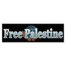 Free Palestine ~ Bumper Sticker