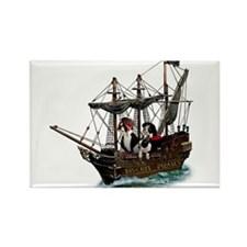 Biscuit Pirates Rectangle Magnet (100 pack)