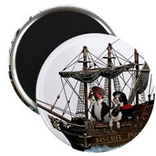 "Biscuit Pirates 2.25"" Magnet (100 pack)"