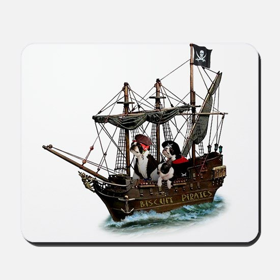 Biscuit Pirates Mousepad