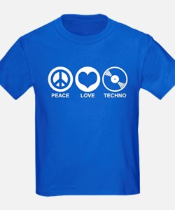 Peace Love Techno T