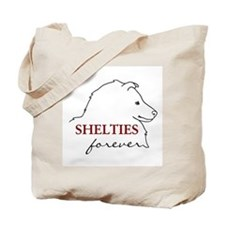 Shelties Forever Tote Bag
