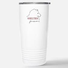 Shelties Forever Stainless Steel Travel Mug