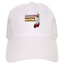 Proud To Be Native American Baseball Cap