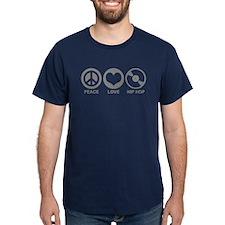 Peace Love Hip Hop T-Shirt