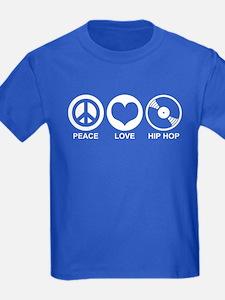 Peace Love Hip Hop T