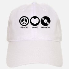 Peace Love Hip Hop Baseball Baseball Cap