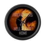 Hell Is Our Home Large Wall Clock