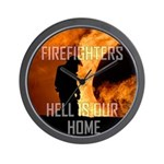 Hell Is Our Home Wall Clock